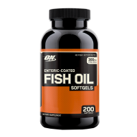 Fish oil (óleo de peixe) - 200 Softgels - Optimum Nutrition