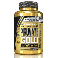 Pyruvate gold 6000 - 120 caps - Nutrytec Xtreme Gold
