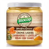 Light carrot cream and red lentil - 295g - Faites vos achats online sur MASmusculo