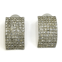 White square earrings - Saleyla