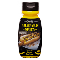 Mustard sauce spicy - 305ml - Servivita