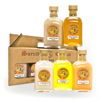 Box with 5 special liquors mini- Buy Online at MOREmuscle