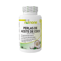 Coconut oil pearls 1000 mg - 100 softgels - Kaufe Online bei MOREmuscle