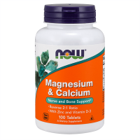 Magnesium & calcium ratio 2:1 - 100 tablets - Kaufe Online bei MOREmuscle