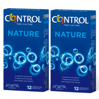 Condoms nature mega saving - 12+12 units