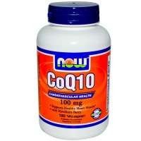 Coq10 100mg - 90 Vaps - Now Foods