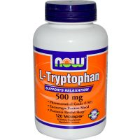 L Tryptophan 500mg - 60 vcaps