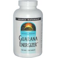 Guarana Energizer 900 mg - 100 caps