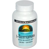 L-Tryptophan 500mg - 120 tabs
