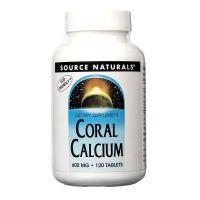 Calcium Coral 600Mg   120 Tab    [Source] - Compre online em MASmusculo