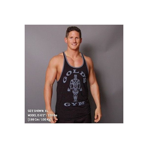 men's tanks muscle joe contrast stringer