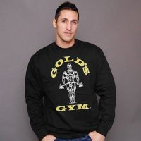 Sudadera Basic Fitted de Gold's Gym