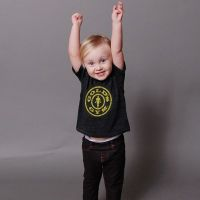 camiseta bebe stronger than dady- Buy Online at MOREmuscle