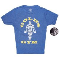 camiseta niño premium muscle joe - Gold's Gym