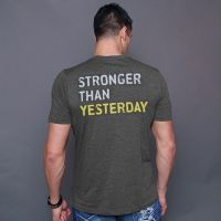 camiseta stronger than yesterday