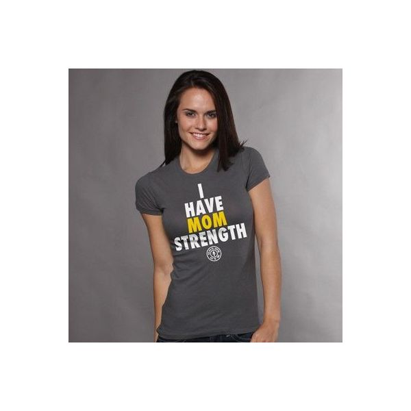 camiseta chica i have mom strenght