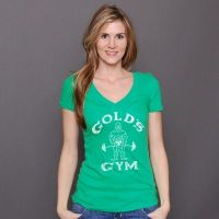 camiseta chica pico lucky - Gold's Gym
