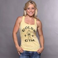 Camiseta Chica Gym Joe Classic Decolorada de Gold's Gym