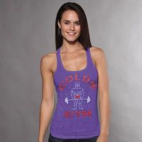 camiseta chica gym joe classic decolorada