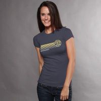 camiseta chica retro motion - Gold's Gym