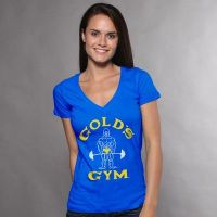 ladies t classic joe deep-v - Gold's Gym