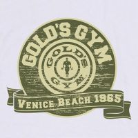 Shirt Venice Throwback Gold's Gym - 2