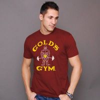 Kurzarmshirt Classic Joe Gold's Gym - 4