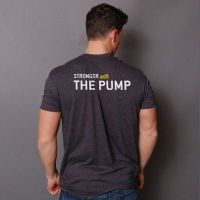 camiseta stronger with every pump