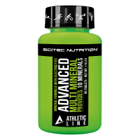 Advanced multi mineral - 60 tablets - Athletic Line by Scitec