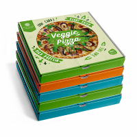 Begginer pack 5 high protein pizzas - Alasature