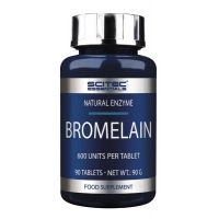 Bromelina - 90 tabs, Absorbe mas proteina - Scitec Essentials
