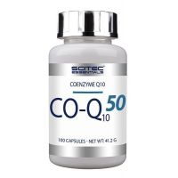 CO-Q10/50mg de 100 cápsulas de la marca Scitec Essentials (Antioxidantes)