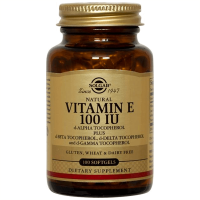 Vitamin e 100iu - 100 softgels - Solgar