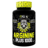 Arginina Plus 1000 Black Skull - 100 cápsulas [3XL Nutrition]