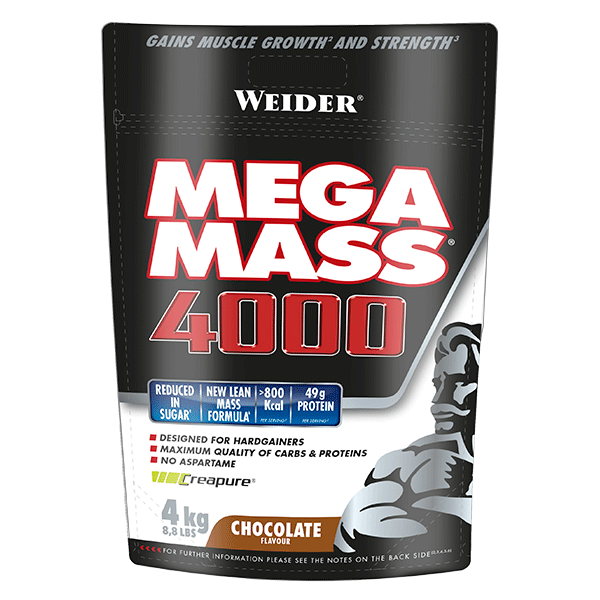Mega Mass 4000 Giant - 4 Kilo