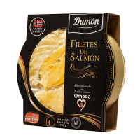 Salmon fillets - 100g - Grupo Dumon