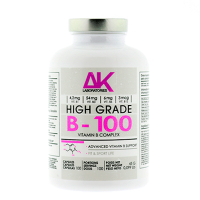 B - 100 (vitamin complex) - 100 Cápsulas [AK Laboratories] - AK Laboratories