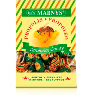 Propolis candy with menthol eucalyptus - 60g - Marnys
