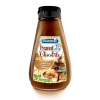 Vegan cream peanut & chocolate - 400g - Quamtrax