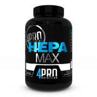 Hepa max - 90 vegetables capsules - 4PRO Nutrition