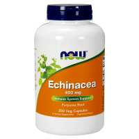 Echinacea 400 mg - 250 veg capsules - Now Foods