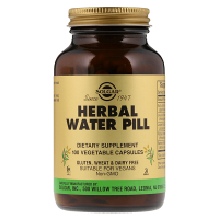 Herbal water pill - 100 vegetable capsules - Solgar