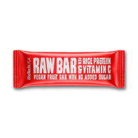 Raw bar with rice protein - 40g - Biotech USA