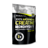 100% creatine (bag) - 500g - Biotech USA