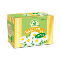Chamomile with anise - 20 sachets - El Naturalista
