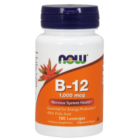 Vitamina B-12 1000 mcg - 100 Pastillas [Nowfoods] - Now Foods