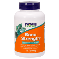 Bone strength - 120 Cápsulas [Nowfoods]