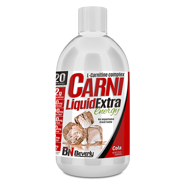 Carni liquid extra energy - 500ml