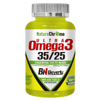 Ultra Omega 3 35/25 de 100 softgels de la marca Beverly Nutrition (Fuente Animal)