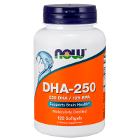 Dha 250mg - 120 softgels - Now Foods